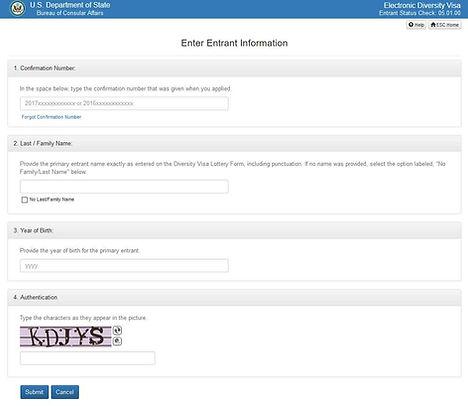 Verificación Estatus en Pagina Oficial