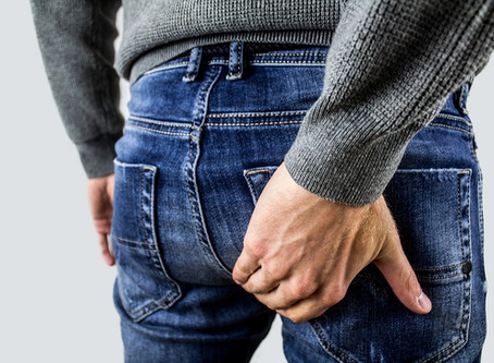 Hemorrhoids—A real pain in the ass!