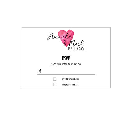RSVP - We Do (From £1.10)