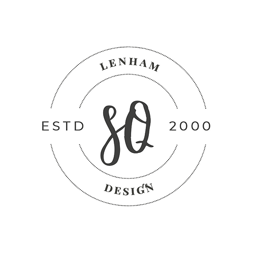 Stamp Estd - Text Logo