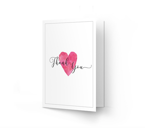 THANK YOU CARD - We Do (From £1)