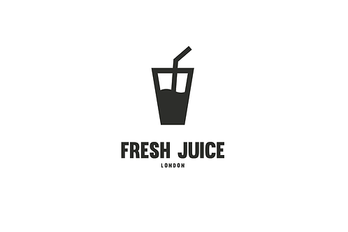 Big Juice - Modern Logo