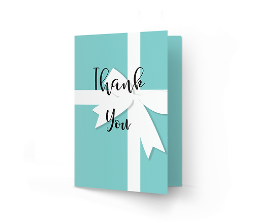 THANK YOU CARD - Forever (From £1)