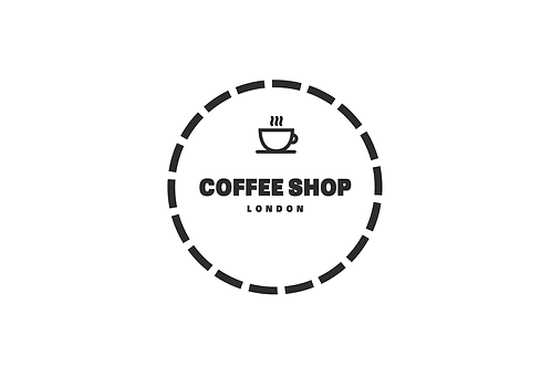 Coffee Circle - Modern Logo