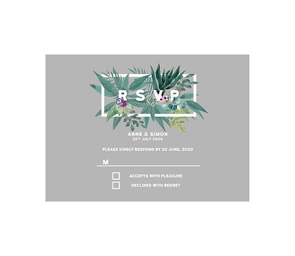 RSVP - Tropical (From £1.10)