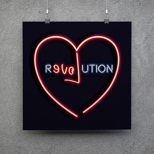 LOVE REVOLUTION 50 x 50cm