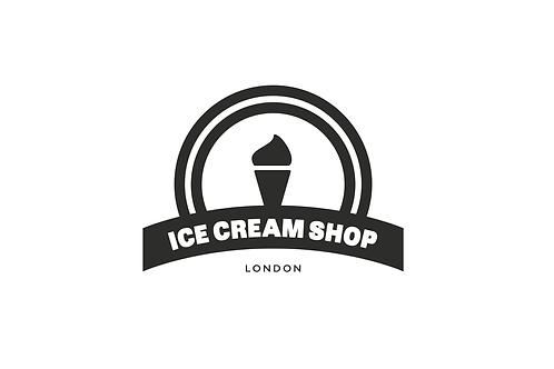 Ice Cream - Modern Logo