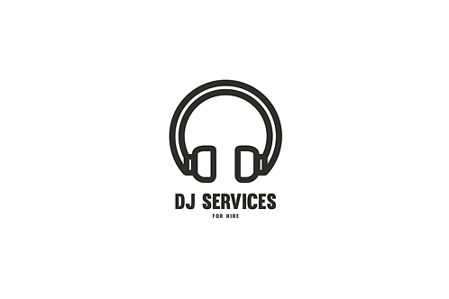 Earphones - Modern Logo