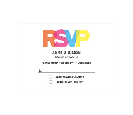 RSVP - Glow (From £1.10)