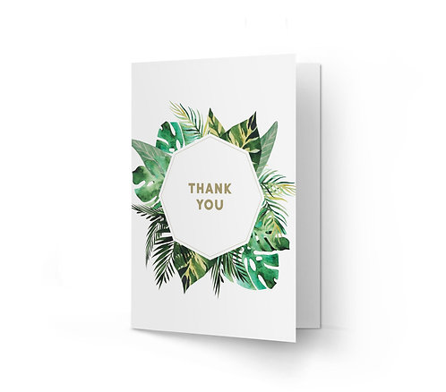 THANK YOU CARD - Lush (From £1)