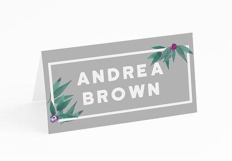 NAME CARDS - Tropical (£1 each)