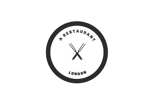 Restaurant 2 - Modern Logo