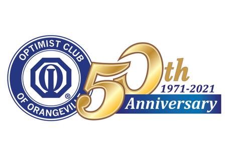 Optimist Club 50th Anniversary in 2021