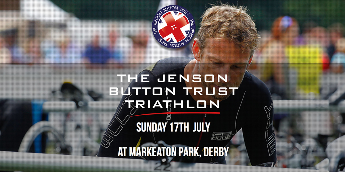 Jenson Button Trust Triathlon