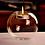 Thumbnail: キャンドルホルダー1個×ミツロウキャンドル2個セット
