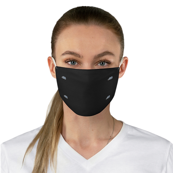 Fabric Face Mask (Blue Gray Rig)