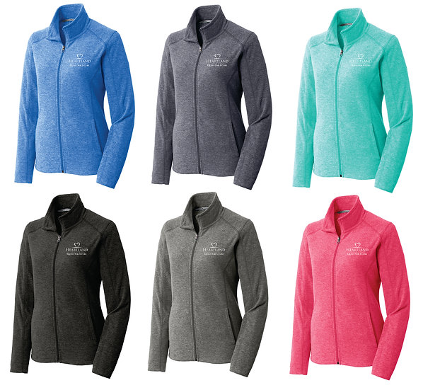 Quest Ladies Full Zip Microfleece