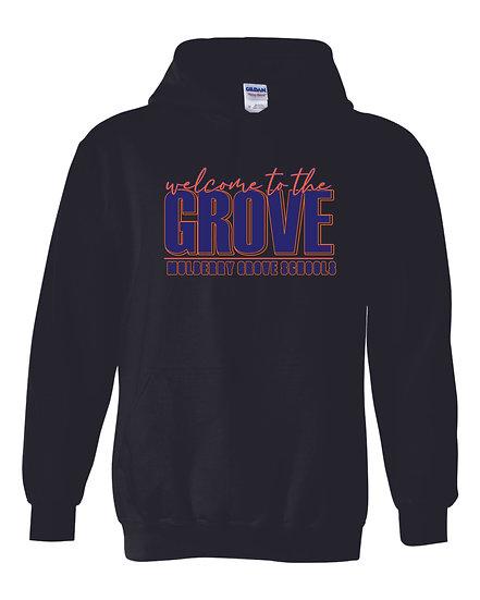 Mulberry Grove Black Hoodie