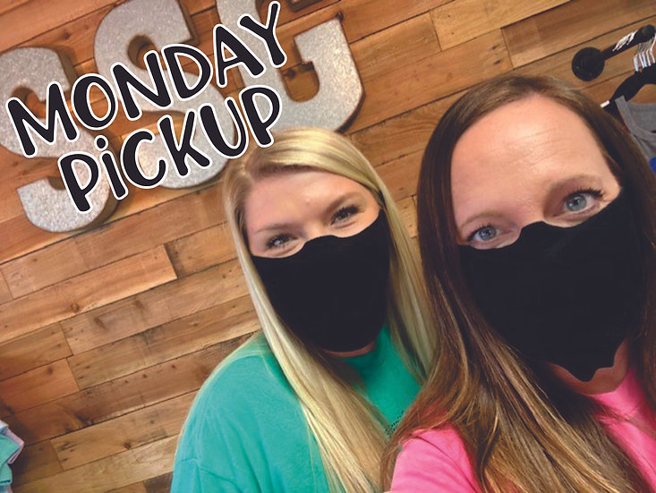 MONDAY PICKUP FACE MASK