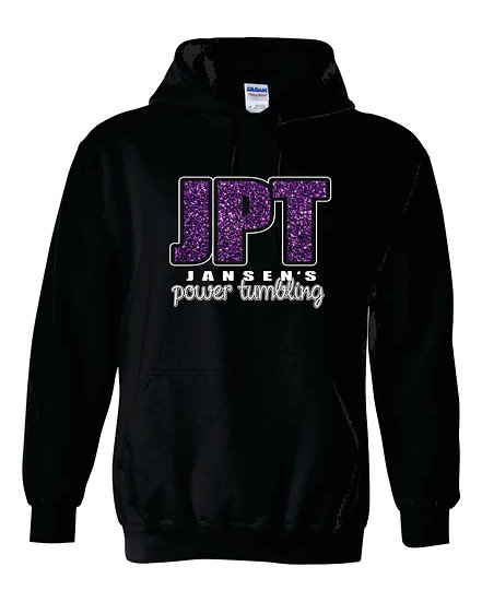 JPT Glitter Gildan Hooded Sweatshirt