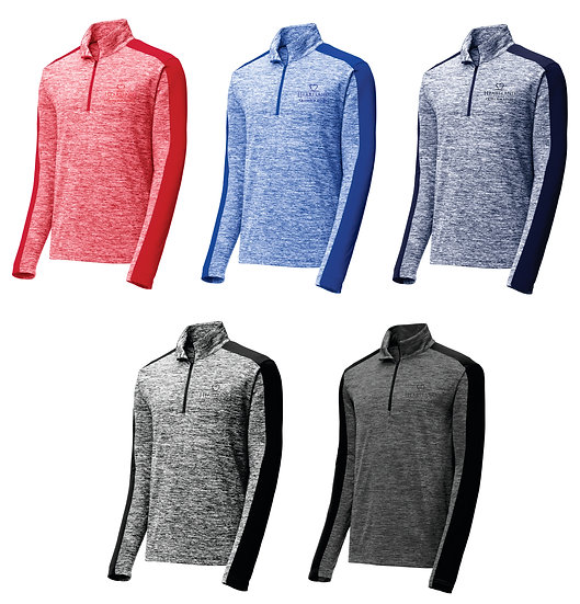 Quest Men's 1/4 Zip Performance Pullover