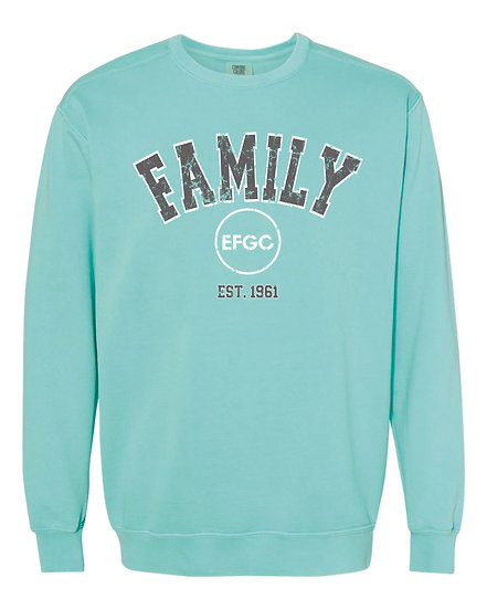 Comfort Colors Family Crew