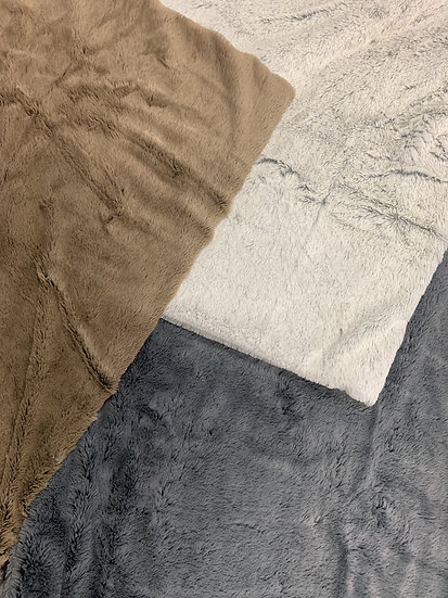 Personalized Faux Fur Blankets