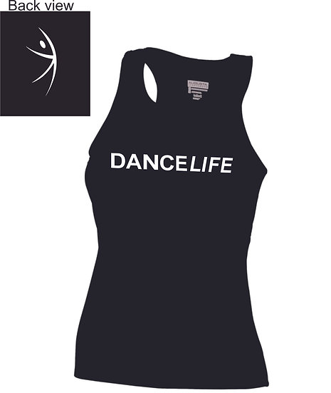 Dance Life Fitted Tank