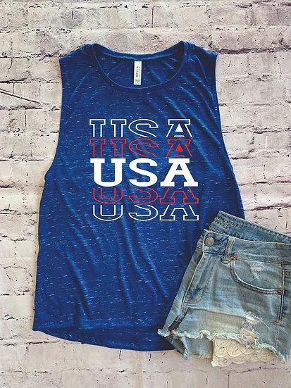 USA Muscle Tank