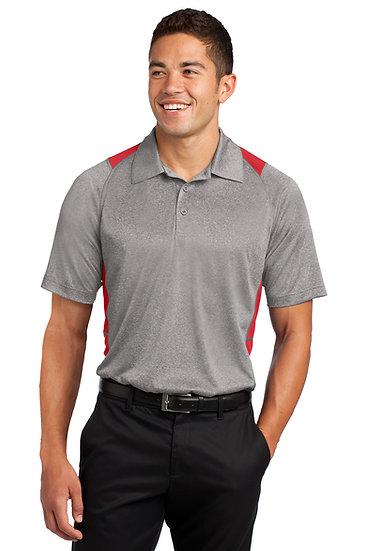 Sport-Tek® Heather Colorblock Contender™ Polo