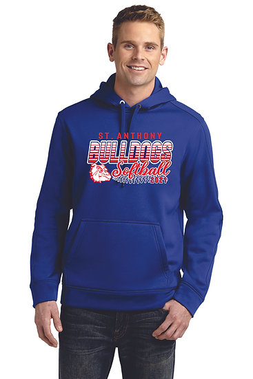 STA Softball Mens Dri Fit Hoodie