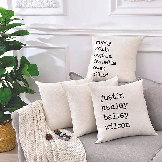 Family Pillow Covers