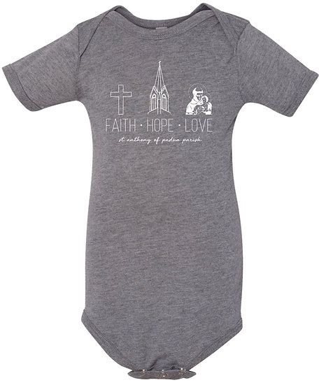 Infant TriBlend Onesie