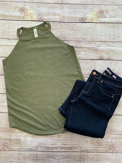 Women's Triblend Rocker Tank - 4 colors