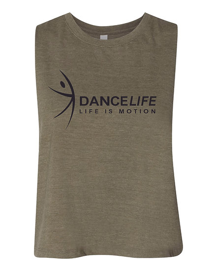 Dance Life Crop Tank (ladies only)