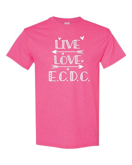 Live Love ECDC Cotton Tshirt