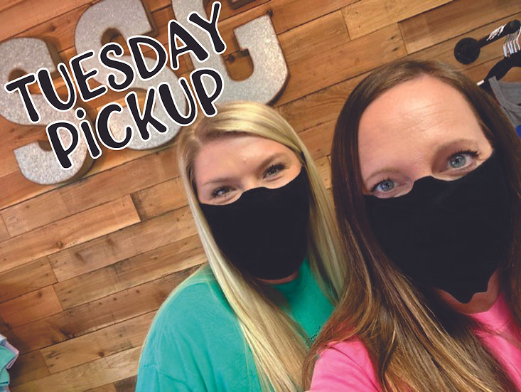 Tuesday Pickup : Face Mask