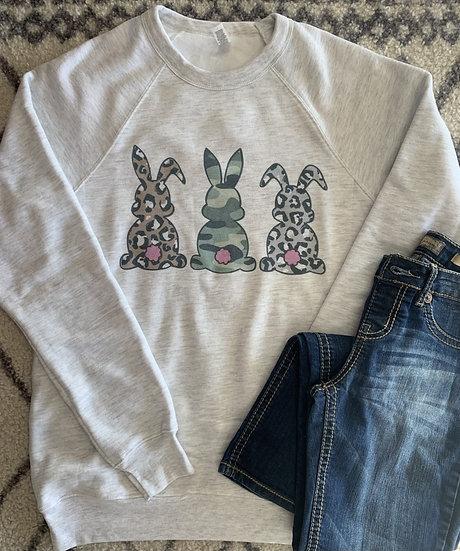 Easter Bunny Bella Canvas Crew
