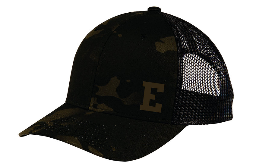 Spor-Tek Black Camo Hat