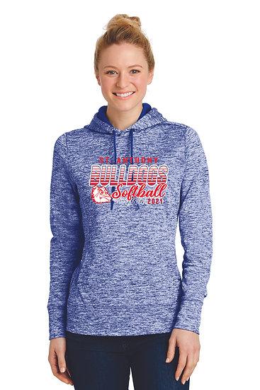 STA Softball Ladies Dri Fit Hoodie