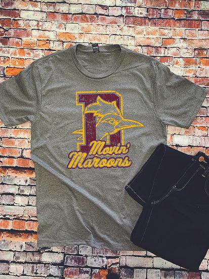 Movin' Maroons Tee