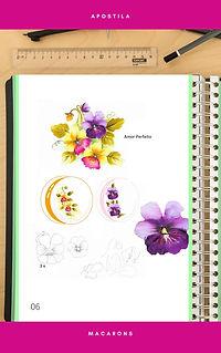 Branco Folha de Caderno e Lápis Caderno
