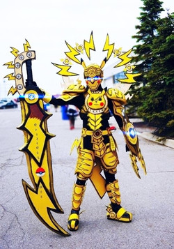 Pokemon Warrior Pikachu