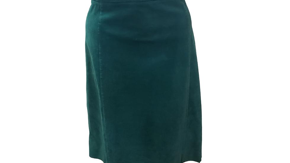PRE-LOVED Turquoise Skirt