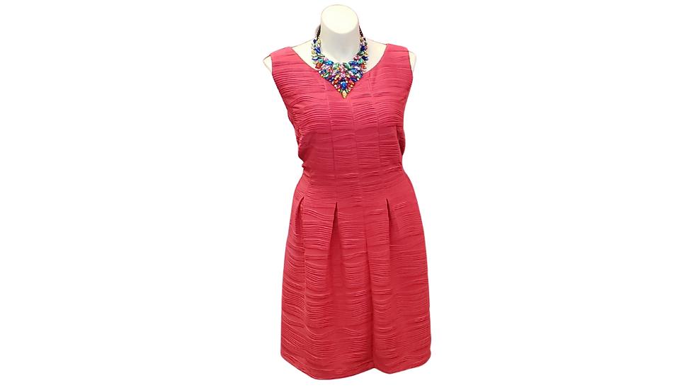24 W Gabby Skye Pink Dress