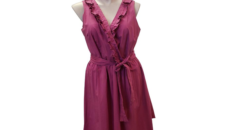 PRE-LOVED 22 Lane Bryant Fuchsia Dress