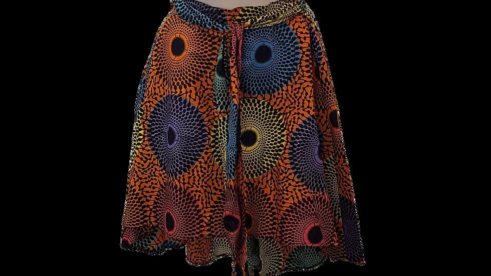 3XL Shenbolen Print Skirt