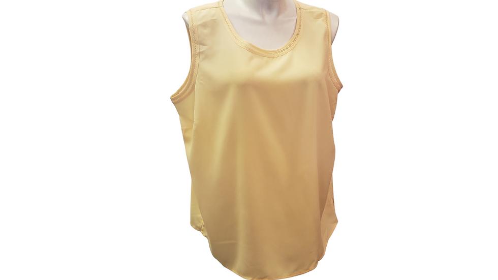PRE-LOVED 3X Karen Scott Light Yellow Tank
