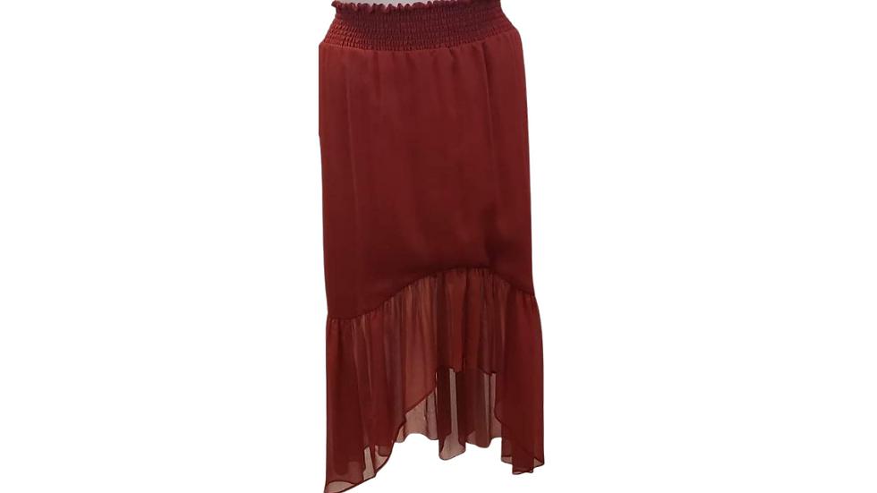 PRE-LOVED 22/24 Ashley Stewart Hi-Lo Skirt