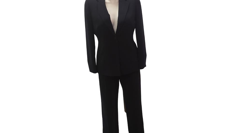 PRE-LOVED 14 2 pc Kasper Navy Pant Suit